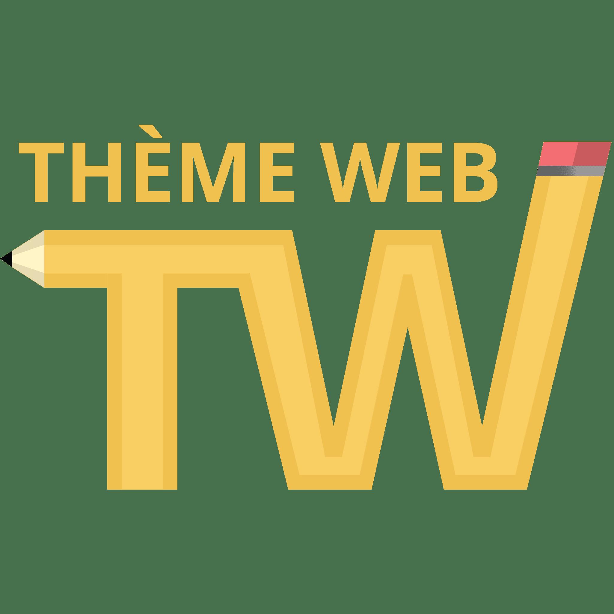 logo theme web